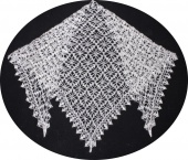 Down shawl 145x100x100 sm (K241)
